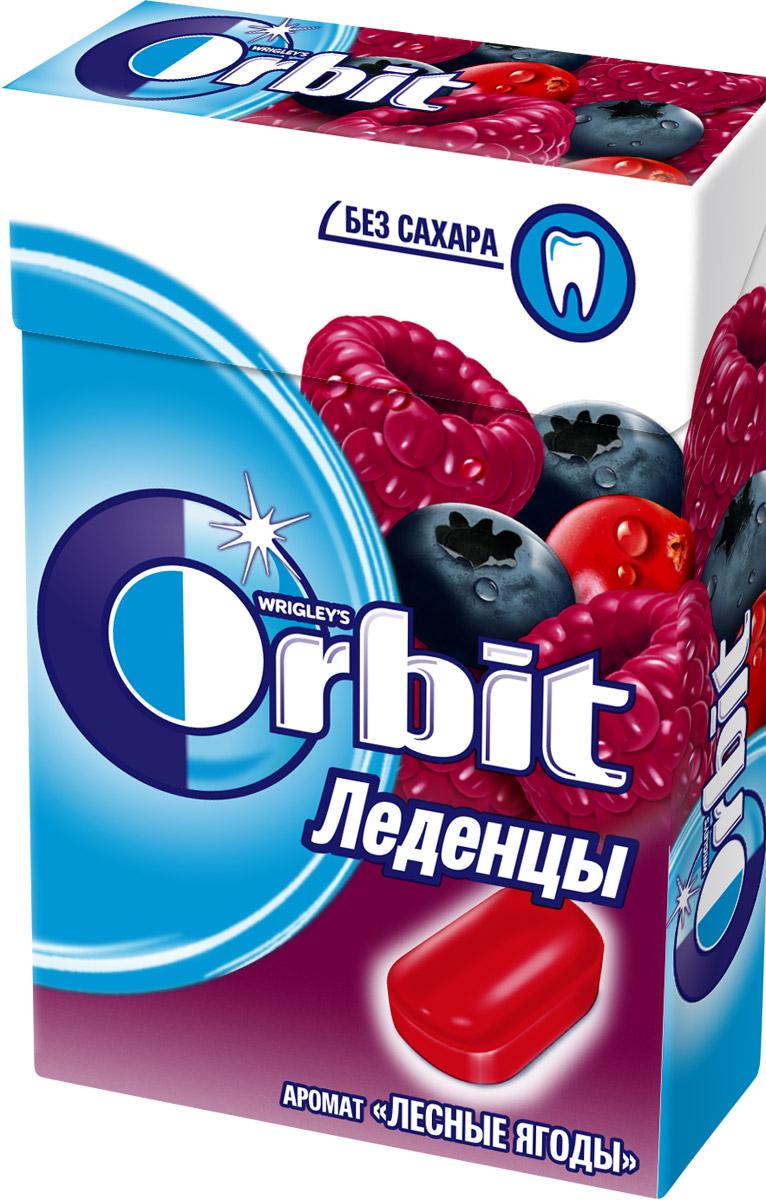 Orbit Лесные ягоды леденцы, 35 г