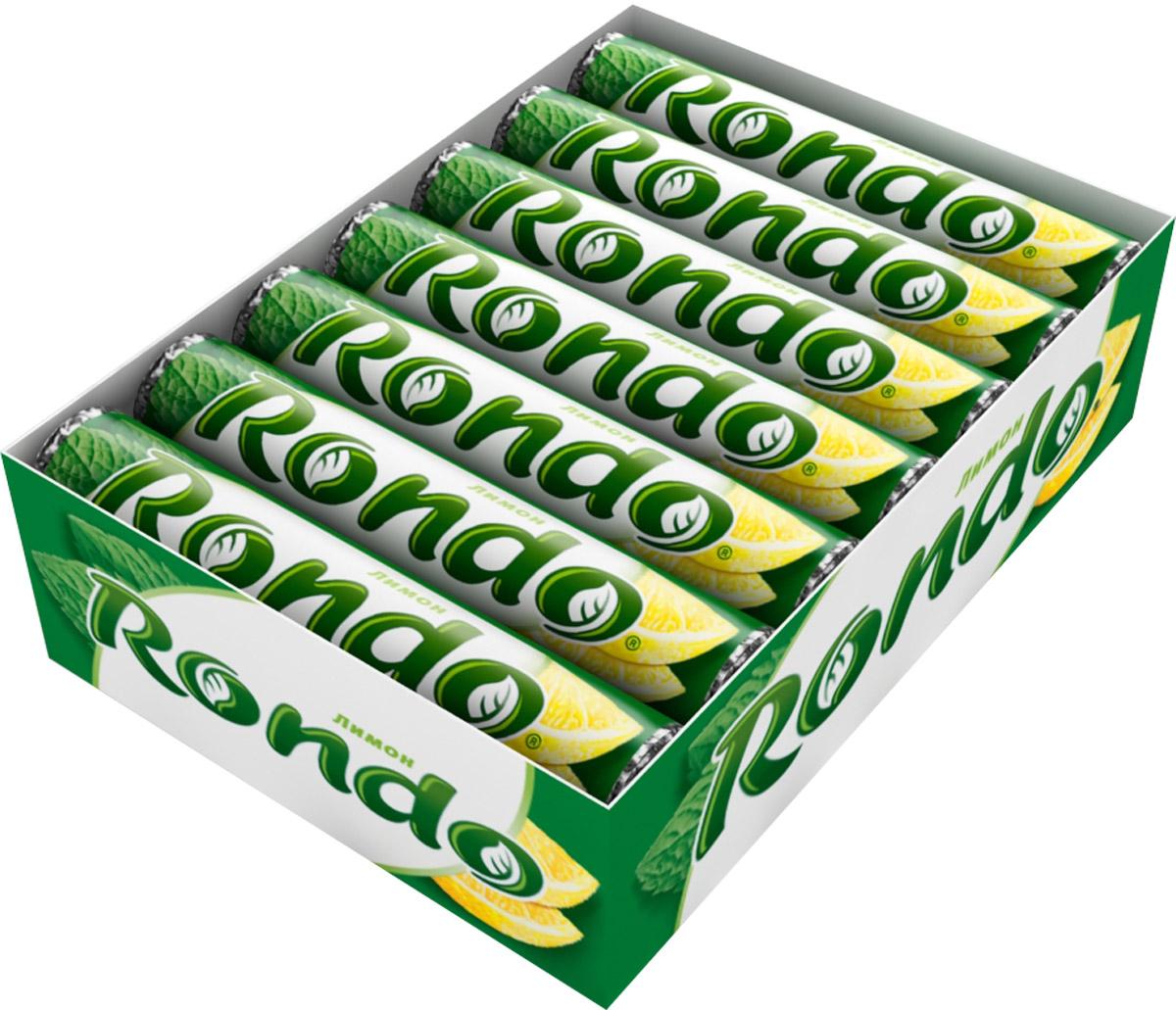 """Rondo """"Лимон"""" освежающие конфеты, 14 пачек по 30 г 5000159372862"""