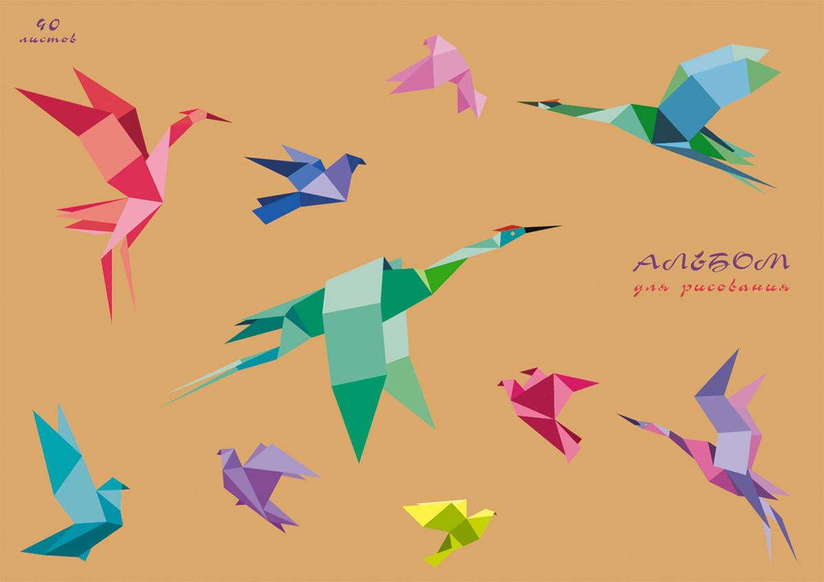Канц-Эксмо Альбом для рисования Искусство оригами 40 листовАЛ401621Альбом для рисования 40 листов на склейке. Обложка из крафт-картона с выборочным лаком. Бумага офсет 120г/м2.