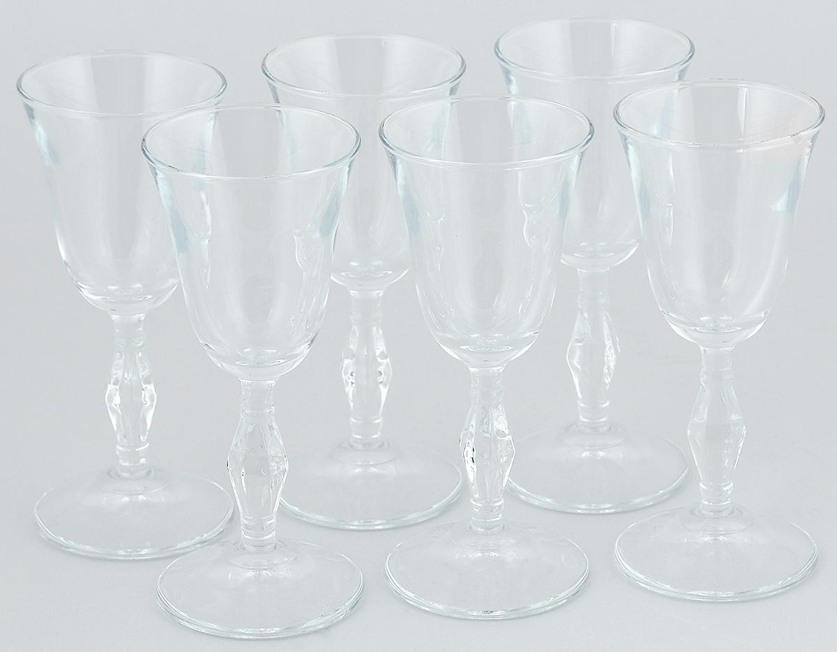 Набор рюмок Pasabahce Retro, 50 мл, 6 шт440074BНабор Pasabahce Retro состоит из 6 рюмок, изготовленных из прочного натрий-кальций-силикатного стекла. Изделия, предназначенные для подачи ликера и других спиртных напитков, несомненно придутся вам по душе. Рюмки сочетают в себе элегантный дизайн и функциональность. Набор рюмок Pasabahce Retro идеально подойдет для сервировки стола и станет отличным подарком к любому празднику. Высота рюмки: 13 см.