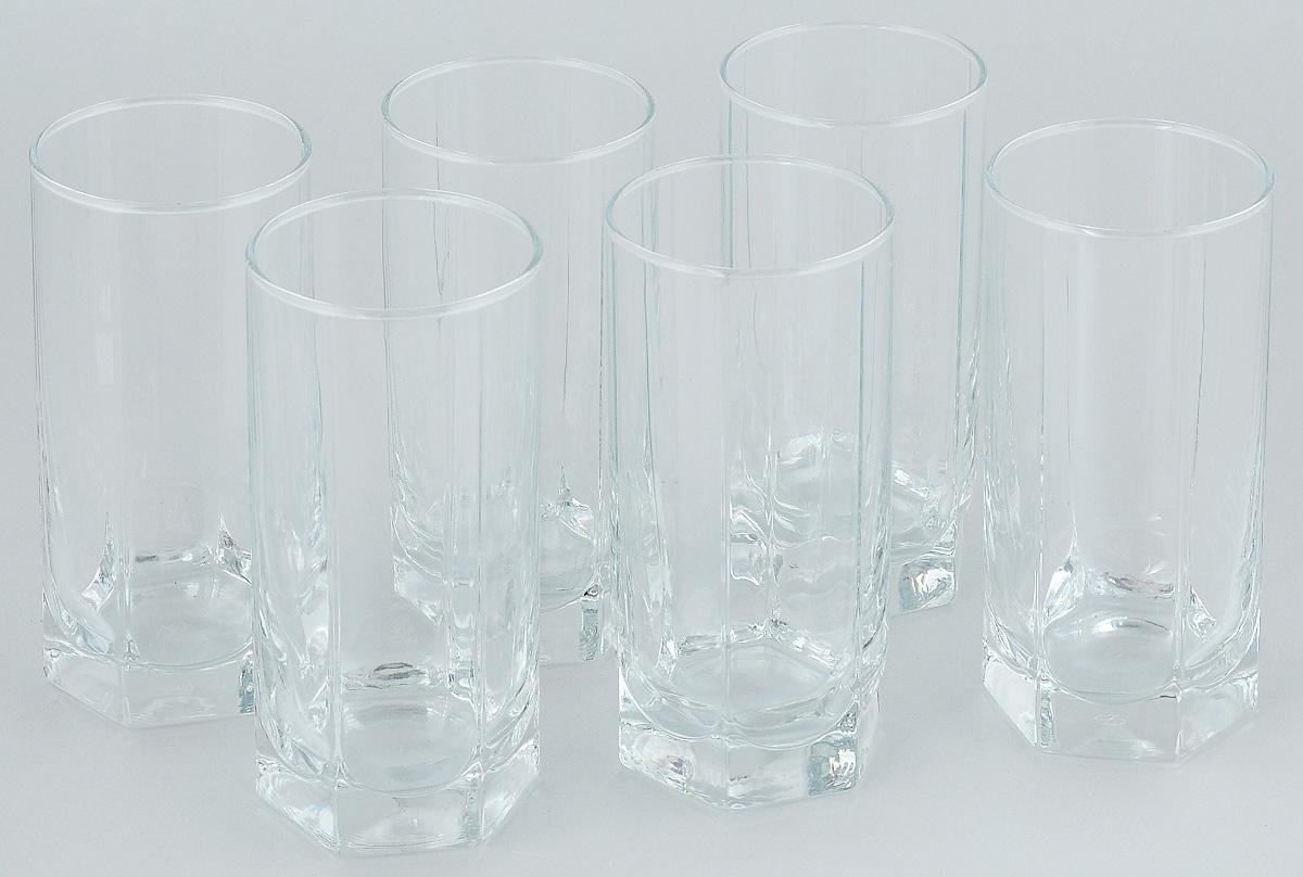 Набор стаканов для коктейлей Pasabahce Tango, 290 мл, 6 шт42942BНабор Pasabahce, состоящий из шести стаканов, несомненно, придется вам по душе. Стаканы предназначены для подачи коктейлей, сока, воды и других напитков. Они изготовлены из прочного высококачественного прозрачного стекла и сочетают в себе элегантный дизайн и функциональность. Благодаря такому набору пить напитки будет еще вкуснее. Набор стаканов Pasabahce идеально подойдет для сервировки стола и станет отличным подарком к любому празднику.