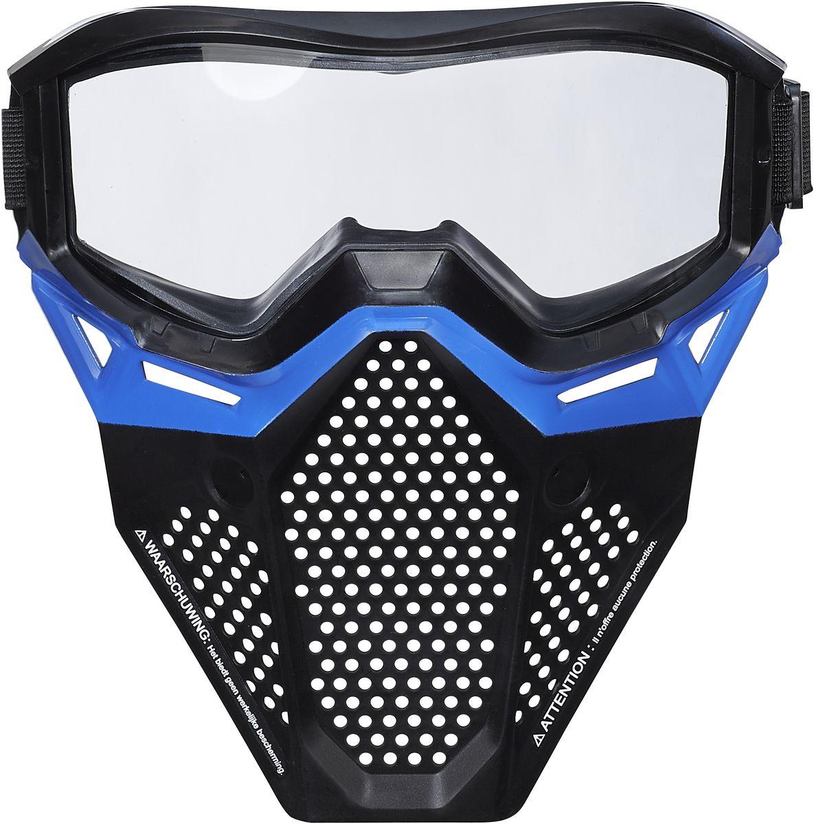 Nerf Игровая маска RivalB1590Игровая маска НЁРФ Райвал. Два цвета в ассортименте: красный и синий.