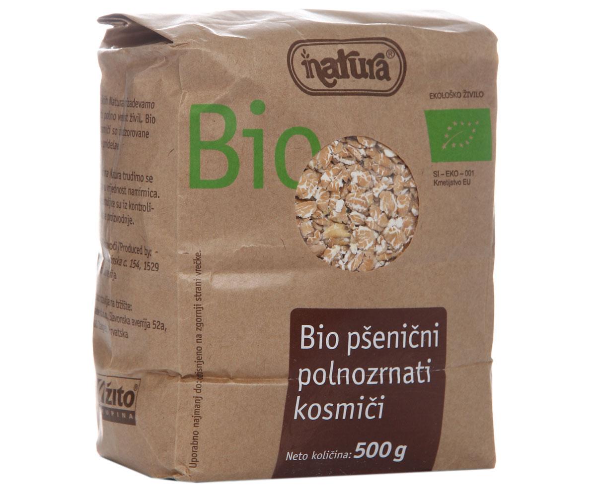 Zito Natura Bio Хлопья пшеничные цельнозерновые, 500 г3400204Биологически произведенные хлопья из цельных зерен пшеницы являются источником необходимой клетчатки, всех минералов и витаминов. Органические продукты Zito Natura имеют маркировку в соответствии с законодательством и европейскую экологическую маркировку сертифицированных органических продуктов питания, так как при их производстве не используются удобрения и распылители, запрещенные в органическом производстве и обработке. Органические продукты произведены под контролем SI - EKO - 001. Органические продукты Natura производятся в регионах, где природа пока еще живет своей жизнью. Они попадают на полки магазинов и на столы людей, выбирающих здоровое питание, в той же форме, в которой их создала природа: натуральными, питательными и здоровыми. Разнообразные натуральные зерна и семена обладают всеми свойствами злаков, полностью сохраняя, таким образом, свои полезные качества.