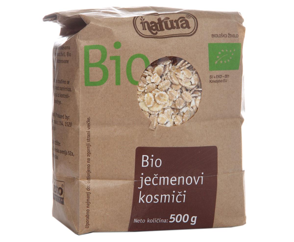 Zito Natura Bio Хлопья ячменные, 500 г3400201Ячмень - один из древнейших видов злаков, который употреблялся древними египтянами для приготовления хлеба, напоминающего лепешки. Благодаря своему высокому содержанию растительных жиров ячмень также известен как злак, придающий энергию. Он содержит важные питательные волокна, богатые бета-глюканами. Органические продукты Zito Natura имеют маркировку в соответствии с законодательством и европейскую экологическую маркировку сертифицированных органических продуктов питания, так как при их производстве не используются удобрения и распылители, запрещенные в органическом производстве и обработке. Органические продукты произведены под контролем SI - EKO - 001. Органические продукты Natura производятся в регионах, где природа пока еще живет своей жизнью. Они попадают на полки магазинов и на столы людей, выбирающих здоровое питание, в той же форме, в которой их создала природа: натуральными, питательными и здоровыми. Разнообразные натуральные зерна и семена обладают всеми свойствами...