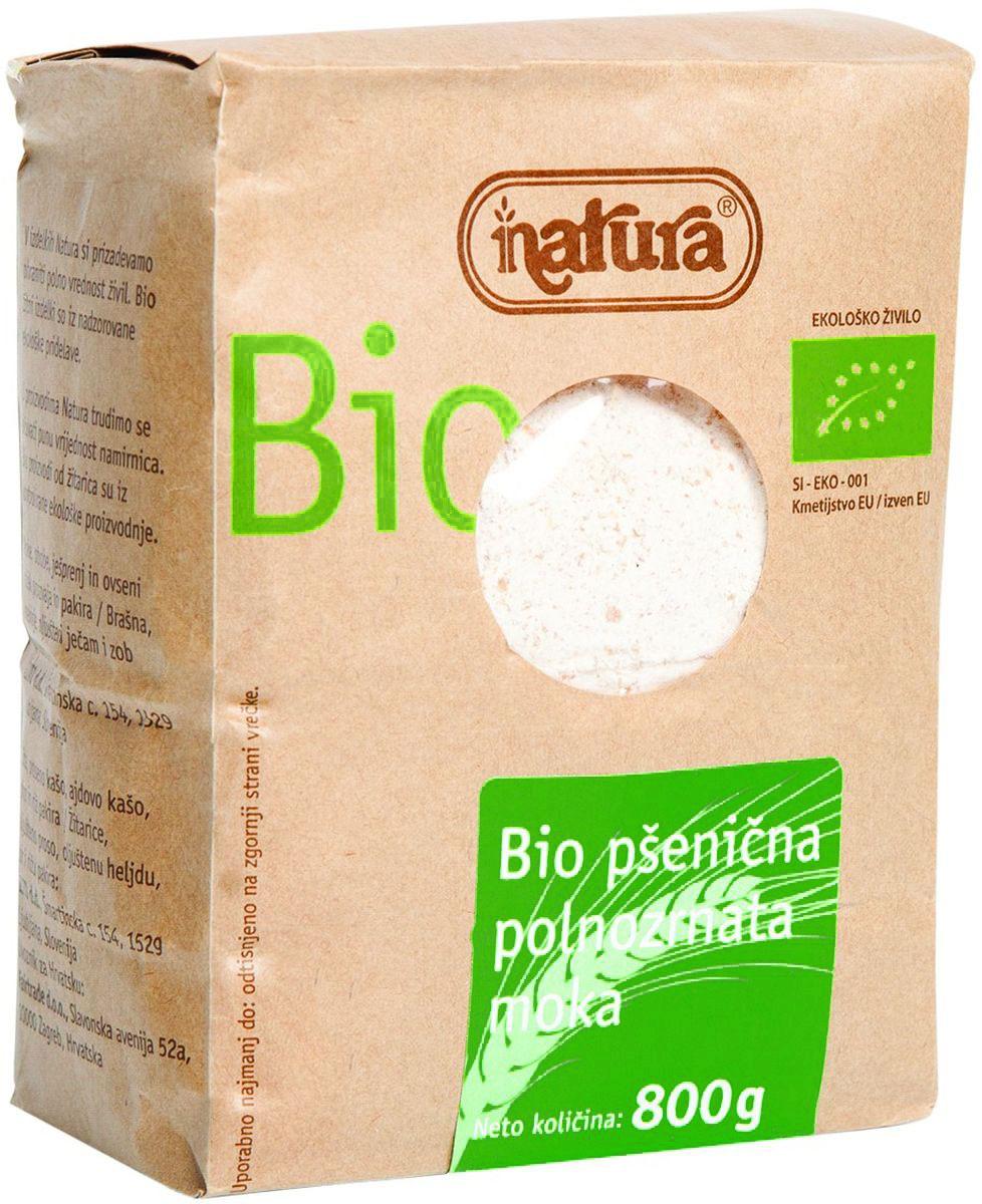 Zito Natura Bio Мука пшеничная цельнозерновая, 800 г 3400102