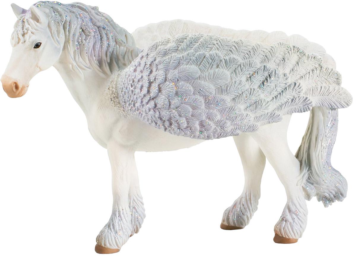 Schleich Фигурка Пегас70423Фигурка Schleich Пегас станет прекрасным подарком для вашего ребенка. Она выполнена из каучукового пластика в виде красивой лошади с крыльями. Детали фигурки четкие и максимально детализированы, что привлекает внимание детей, которые с огромным удовольствием будут играть с ней в ролевые игры. Такая фигурка непременно понравится вашему ребенку и станет замечательным украшением любой коллекции. Пегас - волшебный конь с крыльями. Никто так быстро и высоко не летает, как пегасы. Прекрасные и гордые создания. Когда видишь их в небе, они излучают мерцающий свет словно звезды. Никому в королевстве не дозволено оседлать пегаса.