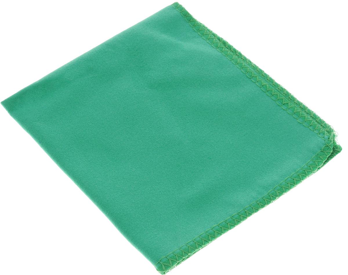 Салфетка для стекол, оптики и зеркал Home Queen, цвет: зеленый, 30 х 30 см50306_зеленыйСалфетка Home Queen, изготовленная из микрофибры (искусственная замша), предназначена для очищения загрязнений на любых поверхностях (включая стекла, зеркала, оптику, мониторы). Изделие обладает высокой износоустойчивостью и рассчитано на многократное использование, легко моется в теплой воде с мягкими чистящими средствами. Такая салфетка не оставляет разводов и ворсинок, удаляет большинство жирных и маслянистых загрязнений без использования химических средств. Впитывает гораздо больше воды, чем обычная ткань. Размер салфетки: 30 х 30 см.