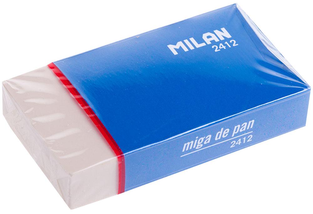 Milan Ластик 2412CMM2412Синтетический ластик Milan нового поколения с высокоэффективным пластификатором. Ластик обеспечивает качественное стирание и не повреждает бумагу.