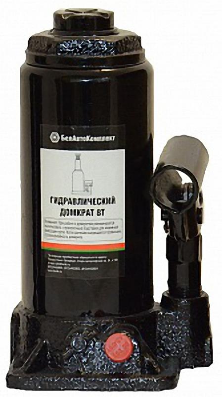 """Домкрат бутылочный """"БелАвтоКомплект"""", 8 т БАК.00044"""
