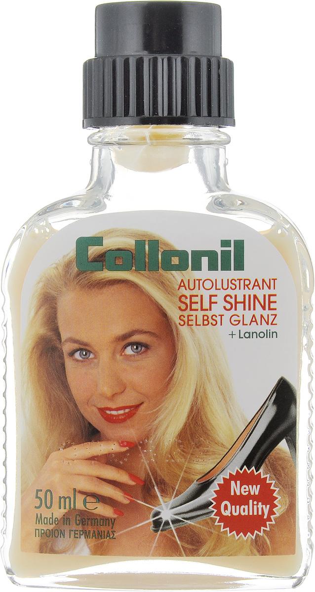 Жидкость для обуви Collonil Selbst Glanz, цвет: нейтральный, 50 мл5282 050Жидкость Collonil Selbst Glanz придает обуви сильный блеск на долгое время. Collonil Selbst Glanz экономит время и деньги (его хватает примерно на 60 применений), разработан на ваксовой основе, ухаживает за кожей за счет ланолина, устойчив по отношению к погодным изменениям. Товар сертифицирован.