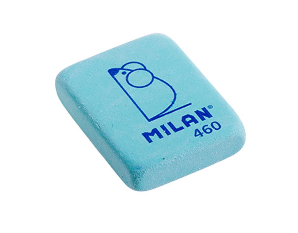 Milan Ластик 460 цвет зеленыйCNM460_зеленыйЛастик Milan с плотной структурой для эффективного стирания карандашей различной твердости. Ластик обеспечивает высокое качество коррекции и не повреждает поверхность бумаги.