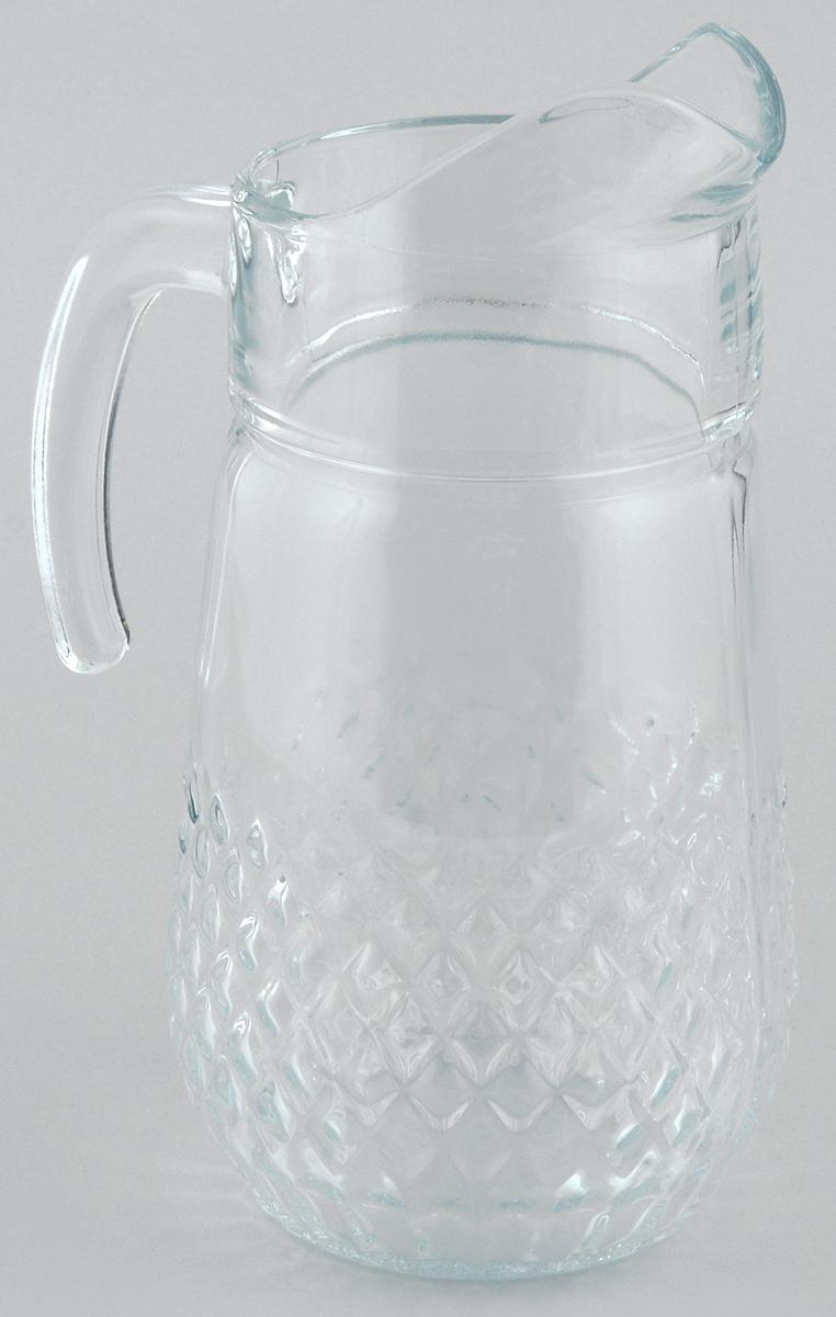 Кувшин Pasabahce Valse, 1,34 л43474BКувшин Pasabahce Valse, выполненный из прочного стекла, элегантно украсит ваш стол. Он прекрасно подойдет для подачи воды, сока, компота и других напитков. Изделие оснащено ручкой и специальным носиком для удобного выливания жидкости. Совершенные формы и изящный дизайн, несомненно, придутся по душе любителям классического стиля. Кувшин Pasabahce Valse дополнит интерьер вашей кухни и станет замечательным подарком к любому празднику. Высота кувшина: 23 см.