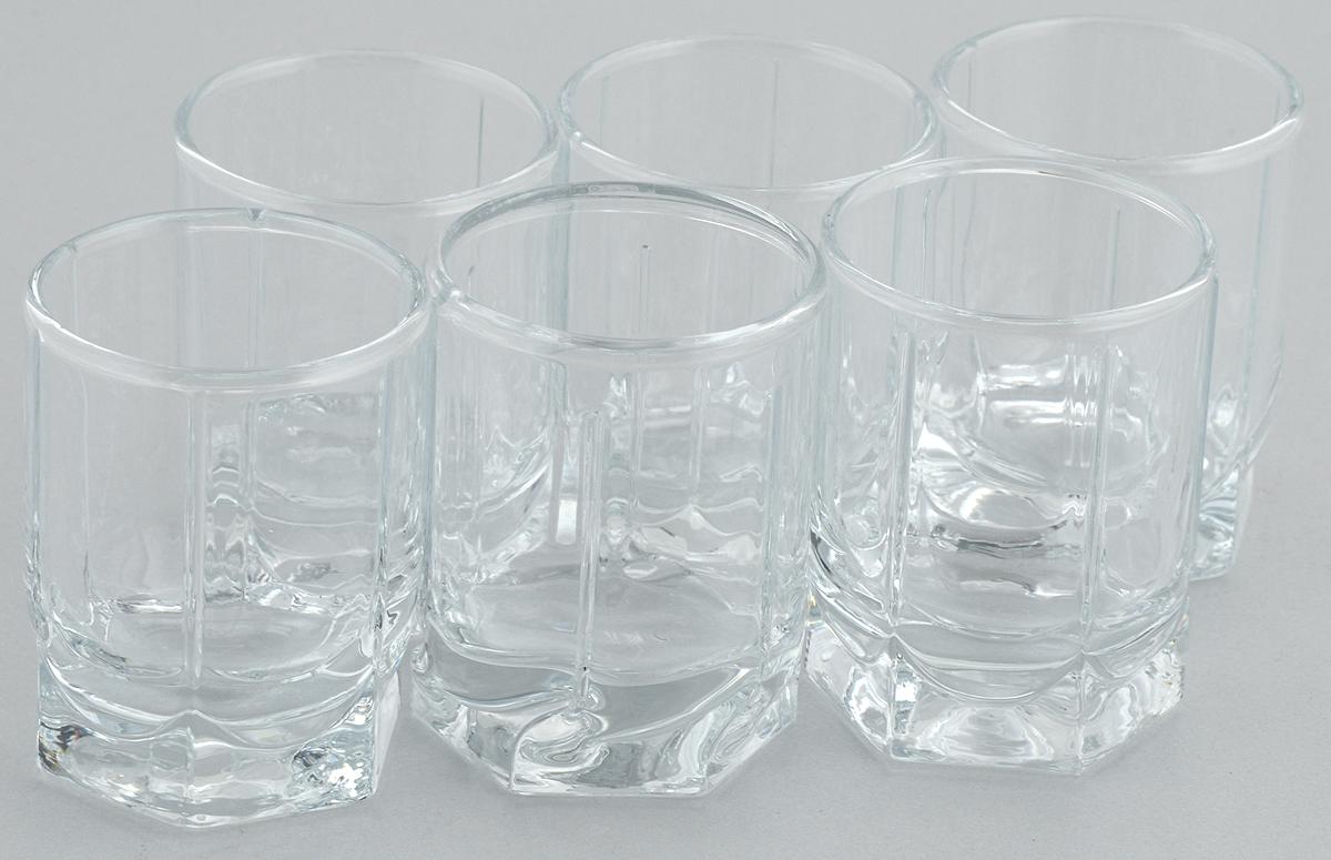 Набор стопок Pasabahce Tango, 60 мл, 6 шт42294/Набор Pasabahce Tango состоит из 6 стопок, выполненных из закаленного натрий- кальций-силикатного стекла. Изделия прекрасно подойдут для подачи крепких алкогольных напитков. Набор стопок Pasabahce Tango украсит ваш стол и станет отличным подарком к любому празднику.