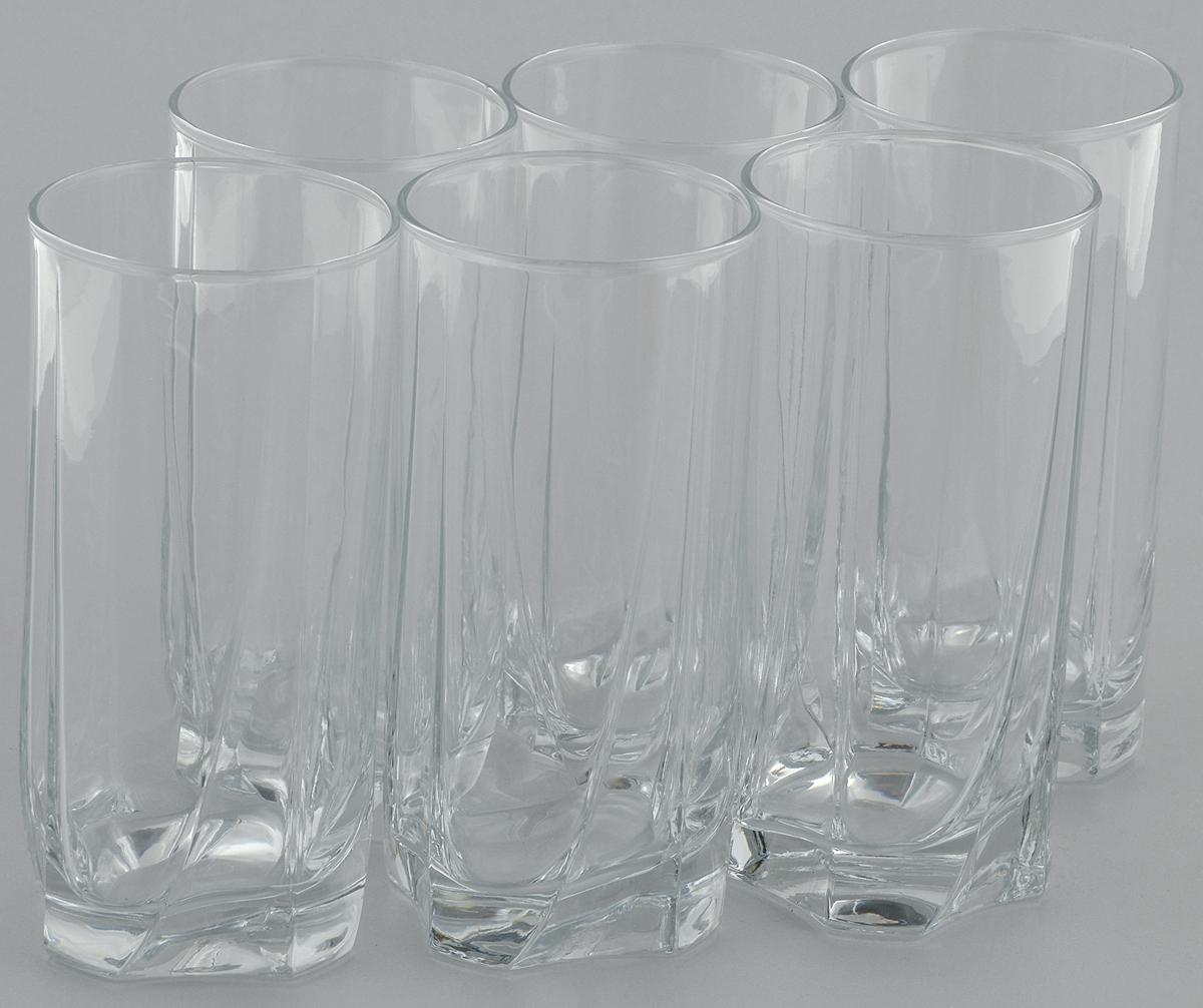 Набор стаканов для коктейлей Pasabahce Luna, 375 мл, 6 шт42358/Набор стаканов для коктейля 6 шт V=375 мл h=150 мм