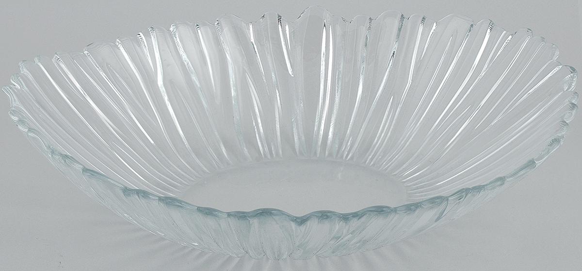 Салатник Pasabahce Aurora, 33 х 26,4 см10611BСалатник Pasabahce Aurora, выполненный из прозрачного высококачественного натрий- кальций-силикатного стекла, предназначен для красивой сервировки различных блюд. Салатник сочетает в себе лаконичный дизайн с максимальной функциональностью. Оригинальность оформления придется по вкусу и ценителям классики, и тем, кто предпочитает утонченность и изящность.