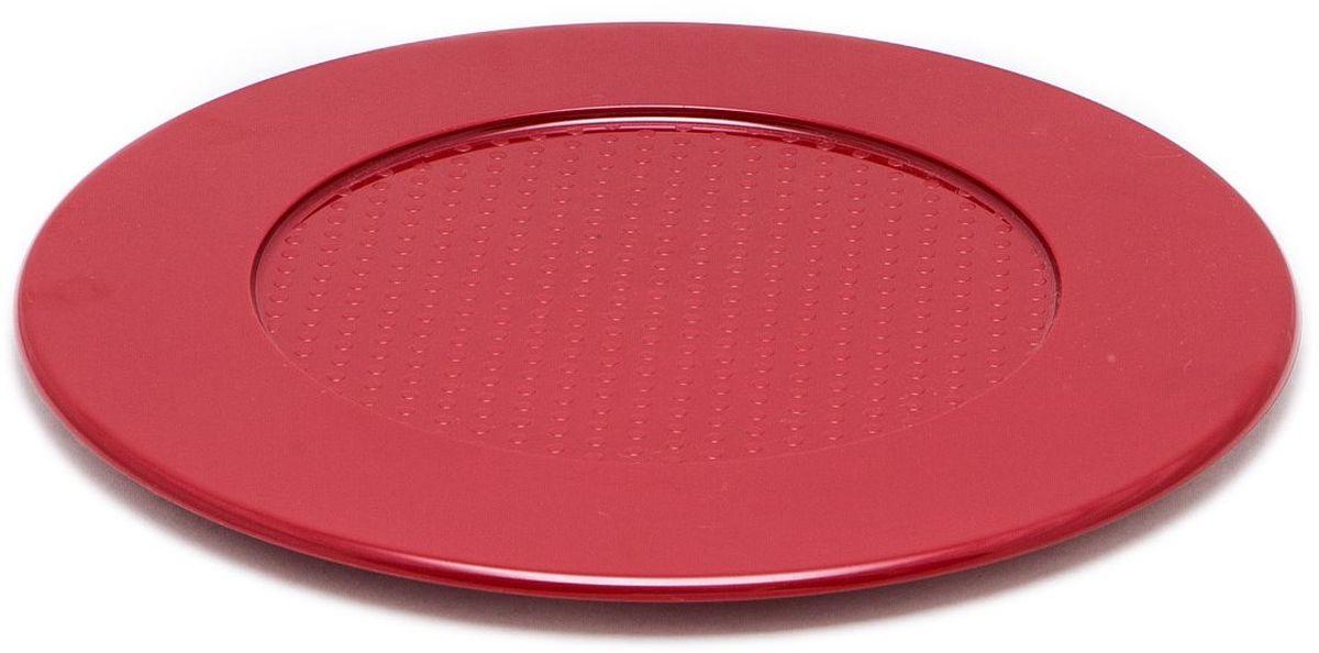 Подставка под горячее MoulinVilla, цвет: красный, 31 смAVARIT SOT 43Кухонные принадлежности серии Рalmas, производсто Италия, воплощение красоты и функциональности, на любой кухни уместны