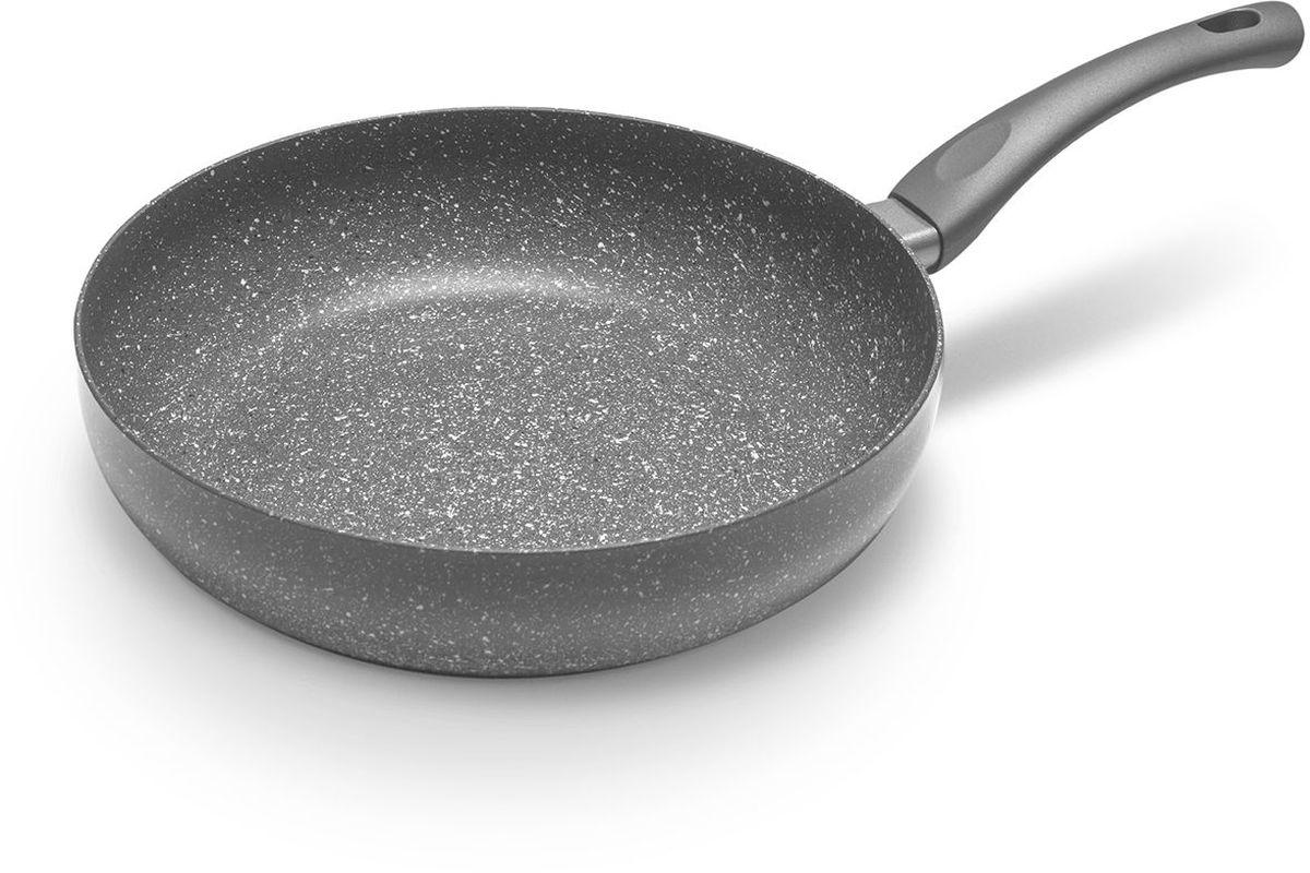 Сковорода MoulinVilla Кухня, с антипригарным покрытием, глубокая, диаметр 28 смGS-28-DIСерия сковород «Кухня» компании Moulinvilla позволяет готовить без добавления масла, пища сохраняет максимум полезных свойств и вкусовых качеств, равномерно прожаривается и не пригорает. Преимуществами данной серии является безопасное современное 2-х слойное антипригарное покрытие, наносимое методом напыления и индукционное дно. Подходит для всех типов плит.