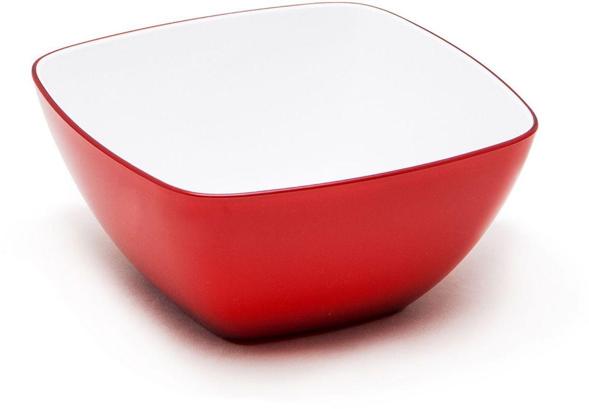 Миска MoulinVilla, цвет: красный, 14 х 14 смL-14RМиска компании Moulinvilla изготовлена из высококачественного акрила. Благодаря оригинальному и привлекательному дизайну выполняет не только практичную, но и декоративную функцию. Белый цвет внутренней поверхности и сочный, интенсивный цвет снаружи отлично контрастируют. В ней можно сервировать салаты, фрукты, закуски, десерты, печенье, сладости и т.д. Состав: Акрил. Можно мыть в посудомоечной машине.
