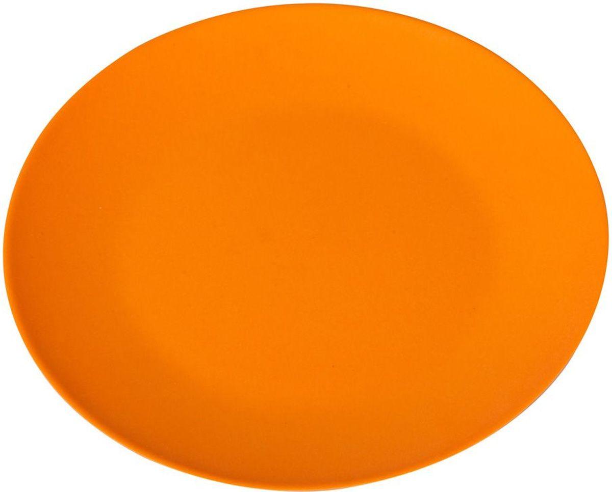 Блюдо MoulinVilla, цвет: оранжевый, диаметр 26 смTSF-06-OПосуда из инновационного материала компании Moulinvilla. Продукт сделан из экологически чистой бамбуковой фибры. Посуда обладает естественными, антибактериальными свойствами. Диапазон температур: от -20 до +120 С. Можно мыть в посудомоечной машине в щадящ