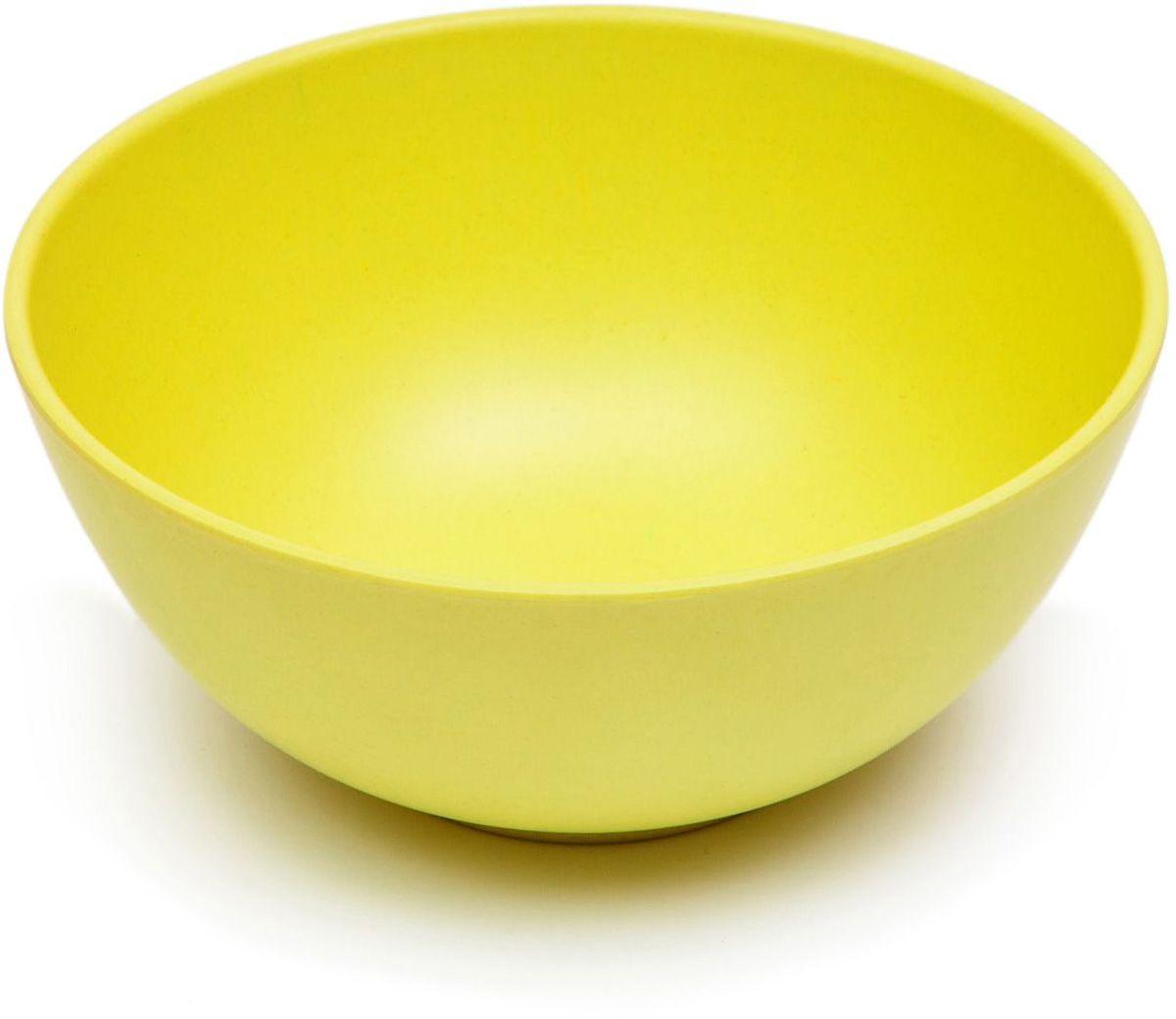 Тарелка глубокая MOULINvilla, цвет: желтый, диаметр 16 смTSF-22-GМиска глубокая MOULINvilla изготовлена из природного бамбука, очищенного от вредных примесей. Для окраски используются натуральные пищевые красители. Бамбук, сам по себе, является природным антисептиком. Эта уникальная особенность посуды гарантирует безопасность при эксплуатации и хранении различных видов пищевой продукции. Можно мыть в посудомоечной машине. Можно использовать в СВЧ печах на короткое время.