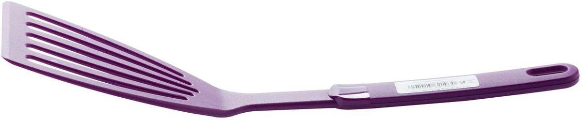 Лопатка для жарки MoulinVilla Palmas, цвет: фиолетовый9031281PFR29Кухонные принадлежности серии Рalmas, производсто Италия, воплощение красоты и функциональности, на любой кухне уместны.