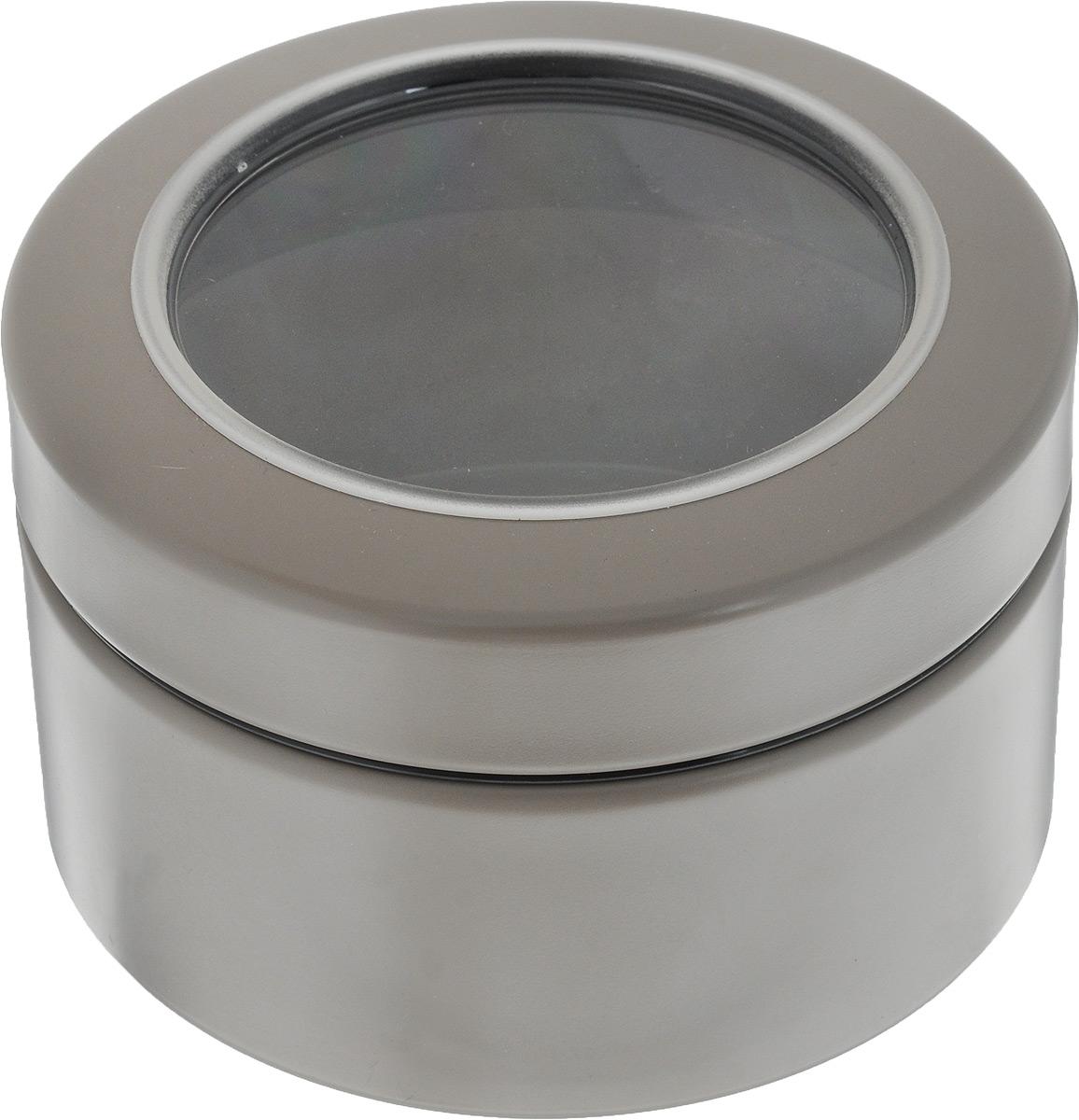 Контейнер Brabantia, цвет: серо-бежевый, 500 мл477980_серо-бежевыйКонтейнер Brabantia прекрасно подойдет для хранения сладостей. Он изготовлен из нержавеющей стали. Контейнер оснащен крышкой с прозрачной вставкой из стекла, благодаря которой вы можете видеть содержимое. Удобный и легкий контейнер позволит вам хранить всевозможные сладости, а благодаря современному дизайну он впишется в любой интерьер.
