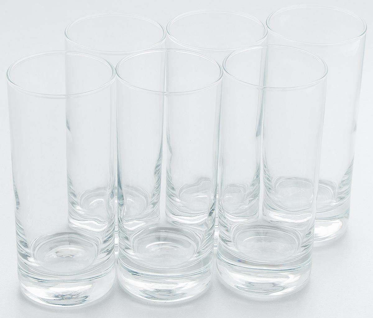 Набор стаканов Pasabahce Side, 290 мл, 6 шт. 42439B42439BНабор Pasabahce состоит из шести стаканов, выполненных из натрий-кальций-силикатного стекла. Изделия предназначены для подачи сока, воды, компота и других напитков. Такие стаканы станут идеальным украшением праздничного стола и отличным подарком к любому празднику. Высота стакана: 15 см.