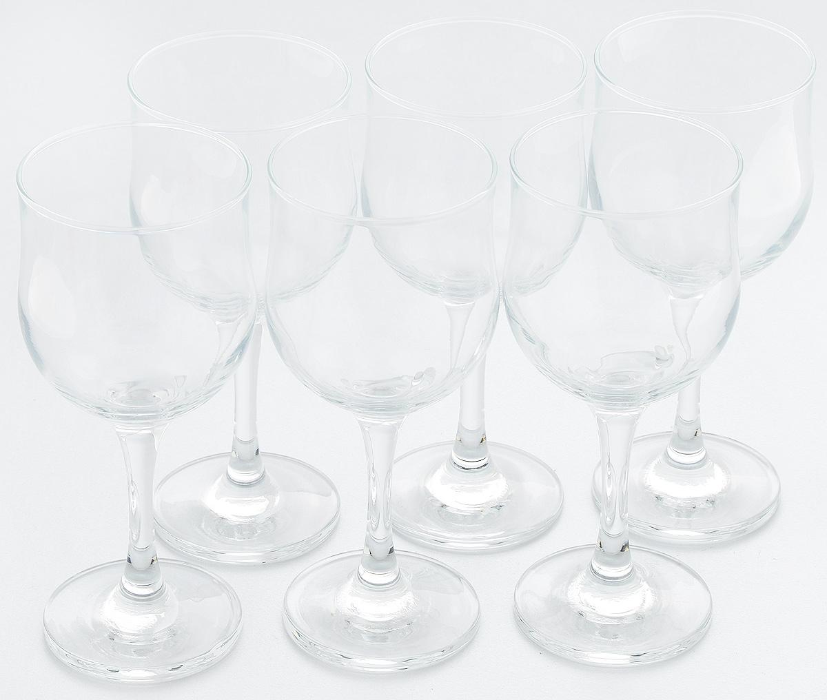 Набор бокалов для красного вина Pasabahce Tulipe, 240 мл, 6 шт44163BНабор Pasabahce Tulipe состоит из 6 бокалов, выполненных из прочного натрий-кальций-силикатного стекла. Изделия оснащены высокими ножками и предназначены для подачи красного вина. Они сочетают в себе элегантный дизайн и функциональность. Набор бокалов Pasabahce Tulipe прекрасно оформит праздничный стол и создаст приятную атмосферу за романтическим ужином. Такой набор также станет хорошим подарком к любому случаю. Высота бокала: 16 см.