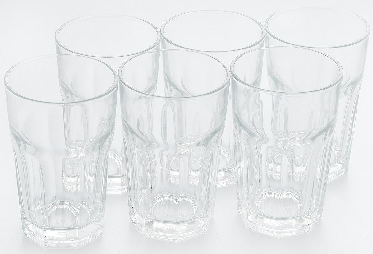 Набор стаканов Pasabahce Casablanca, 295 мл, 6 шт52713T/Набор Pasabahce Casablanca состоит из шести стаканов, выполненных из высококачественного стекла. Изделия оснащены многогранной рельефной поверхностью. Такие стаканы подойдут для подачи виски, сока и других напитков со льдом. Стаканы сочетают в себе элегантный дизайн и функциональность. Набор стаканов Pasabahce Casablanca идеально подойдет для сервировки стола и станет отличным подарком к любому празднику.