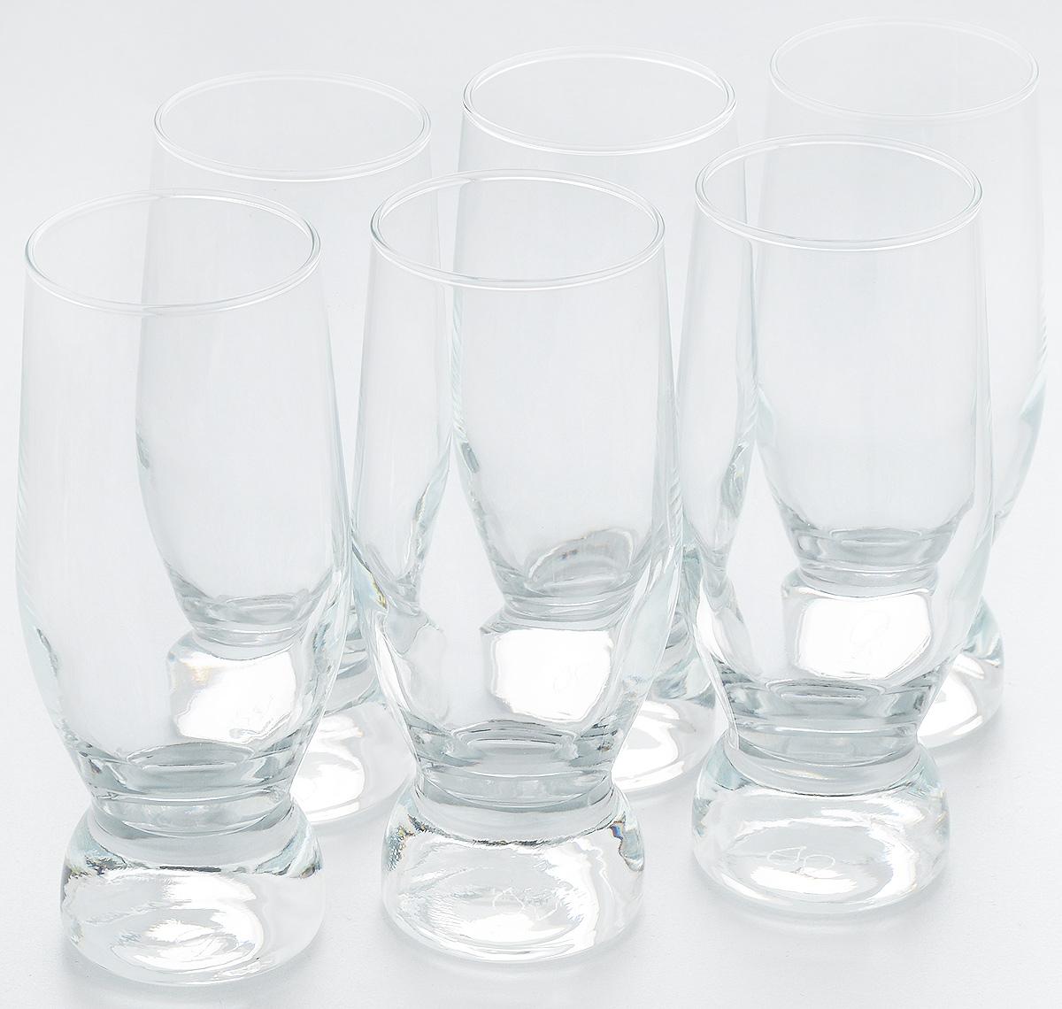 Набор стаканов для коктейлей Pasabahce Aquatic, 265 мл, 6 шт42978BНабор Pasabahce, состоящий из шести стаканов, несомненно, придется вам по душе. Стаканы предназначены для подачи коктейлей, сока, воды и других напитков. Они изготовлены из прочного высококачественного прозрачного стекла и сочетают в себе элегантный дизайн и функциональность. Благодаря такому набору пить напитки будет еще вкуснее. Набор стаканов Pasabahce идеально подойдет для сервировки стола и станет отличным подарком к любому празднику. Высота стакана: 15 см.