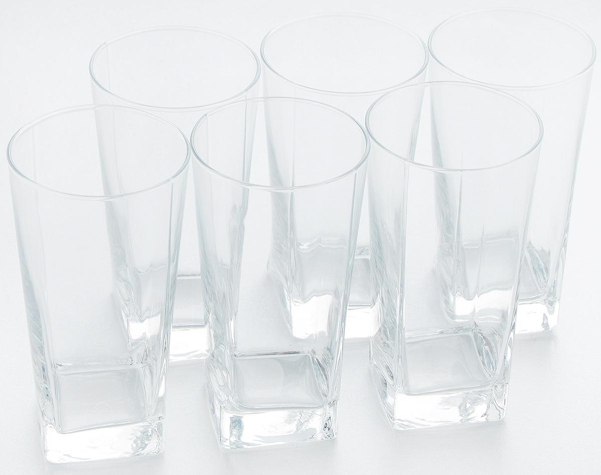 Набор стаканов Pasabahce Carre, 305 мл, 6 шт41300/Набор Pasabahce состоит из шести стаканов, выполненных из натрий-кальций-силикатного стекла. Изделия предназначены для подачи сока, воды, компота и других напитков. Такие стаканы станут идеальным украшением праздничного стола и отличным подарком к любому празднику. Диаметр стакана: 7 см. Высота стакана: 13,1 см.