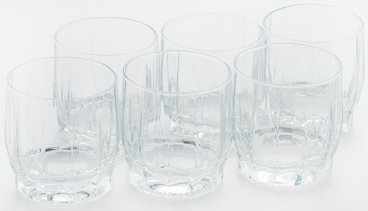 Набор стаканов Pasabahce Dance, 290 мл, 6 шт42865BНабор Pasabahce состоит из шести стаканов, выполненных из натрий-кальций-силикатного стекла. Изделия предназначены для подачи сока, воды, компота и других напитков. Такие стаканы станут идеальным украшением праздничного стола и отличным подарком к любому празднику. Высота стакана: 9 см.