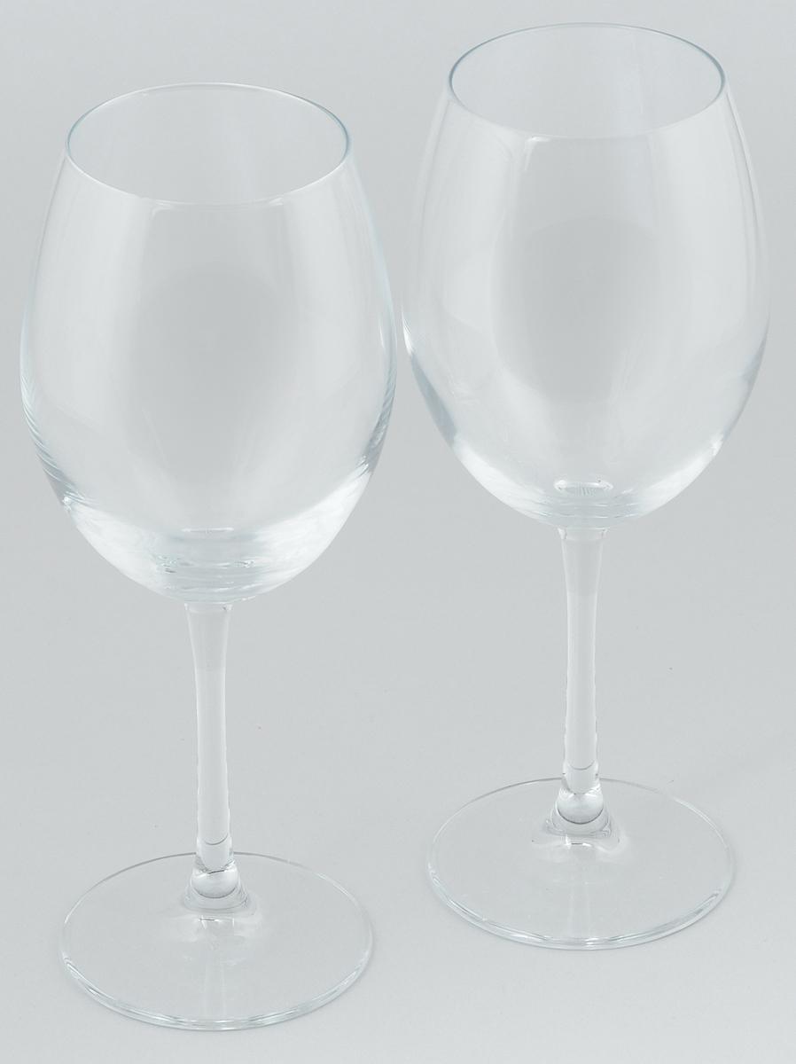Набор бокалов для вина Pasabahce Enoteca, 615 мл, 2 шт44738/Набор Pasabahce Enoteca состоит из двух бокалов, выполненных из прочного натрий-кальций-силикатного стекла. Изделия оснащены высокими ножками и предназначены для подачи вина. Они сочетают в себе элегантный дизайн и функциональность. Набор бокалов Pasabahce Enoteca прекрасно оформит праздничный стол и создаст приятную атмосферу за романтическим ужином. Такой набор также станет хорошим подарком к любому случаю.
