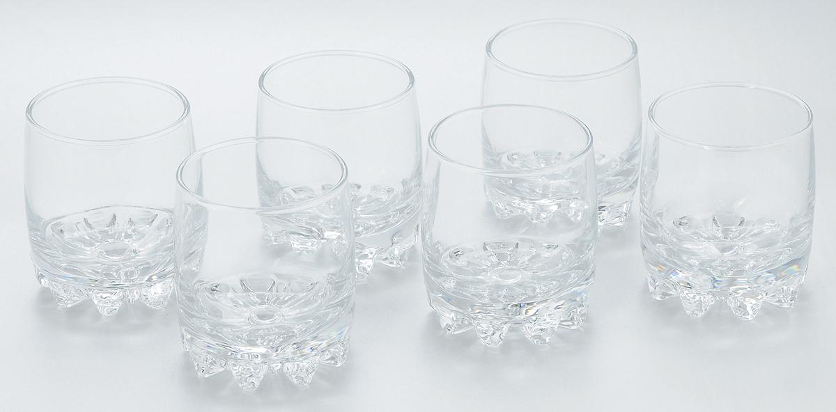 Набор стаканов для сока Pasabahce Sylvana, 200 мл, 6 шт. 42414B42414BНабор Pasabahce состоит из шести стаканов, выполненных из закаленного натрий-кальций-силикатного стекла. Низкие стаканы с утолщенным дном предназначены для подачи сока, компота и других напитков. Стаканы сочетают в себе элегантный дизайн и функциональность. Благодаря такому набору пить напитки будет еще вкуснее. Набор стаканов Pasabahce идеально подойдет для сервировки стола и станет отличным подарком к любому празднику. Высота стакана: 8 см.