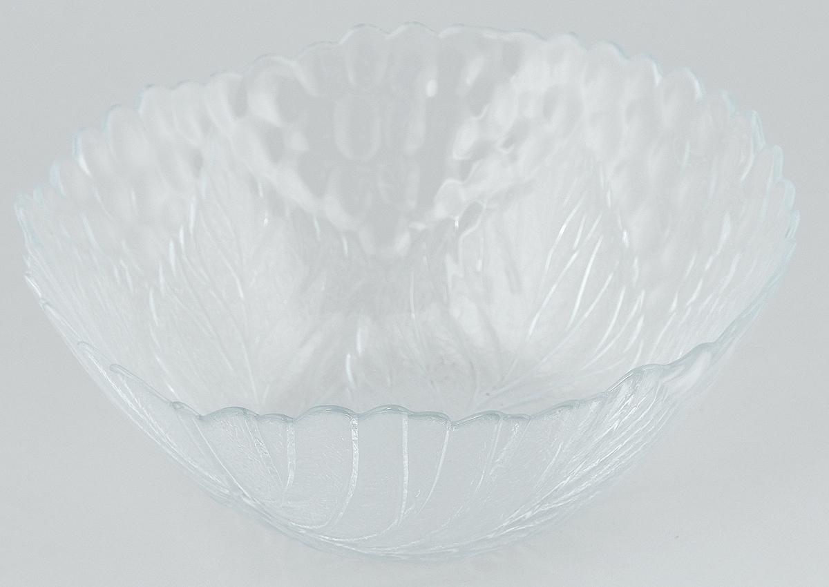 Салатник Pasabahce Sultana, диаметр 23 см. 10284B10284BСалатник Pasabahce Sultana, выполненный из прозрачного высококачественного натрий- кальций-силикатного стекла, предназначен для красивой сервировки различных блюд. Салатник сочетает в себе лаконичный дизайн с максимальной функциональностью. Оригинальность оформления придется по вкусу и ценителям классики, и тем, кто предпочитает утонченность и изящность.
