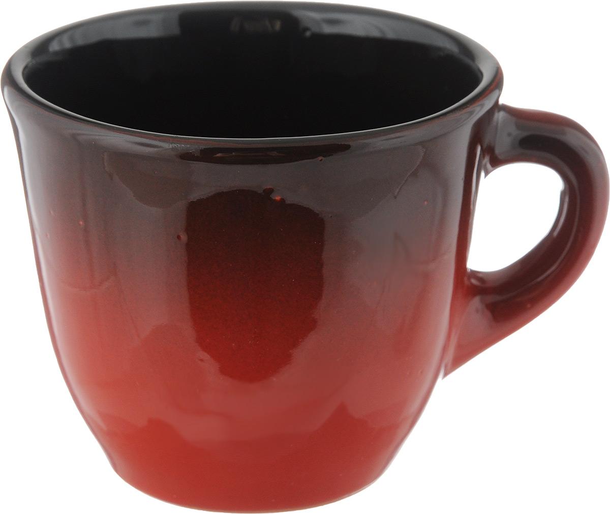 Чашка Борисовская керамика Красный, цвет: черный, красный, 300 млКРС00000633_черный, красныйУдобная чашка Борисовская керамика Красный предназначена для повседневного использования. Она выполнена из высококачественной керамики. Природные свойства этого материала позволяют долго сохранять температуру напитка, даже если вы пьете что-то холодное. Внешние и внутренние стенки покрыты цветной глазурью. Диаметр чашки (по верхнему краю): 10 см. Высота стенки: 8 см.