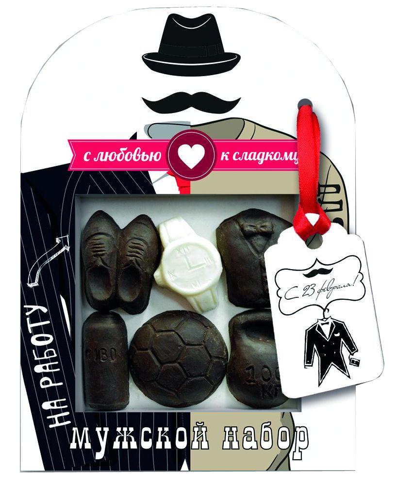 Русский марципан Хороший вечер шоколадный набор, 55 г16921Сладкий шоколадный набор будет прекрасным подарком.