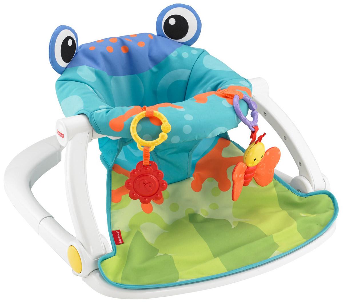Fisher Price Кресло-сидение напольное Лягушонок BFB12_лягушонок