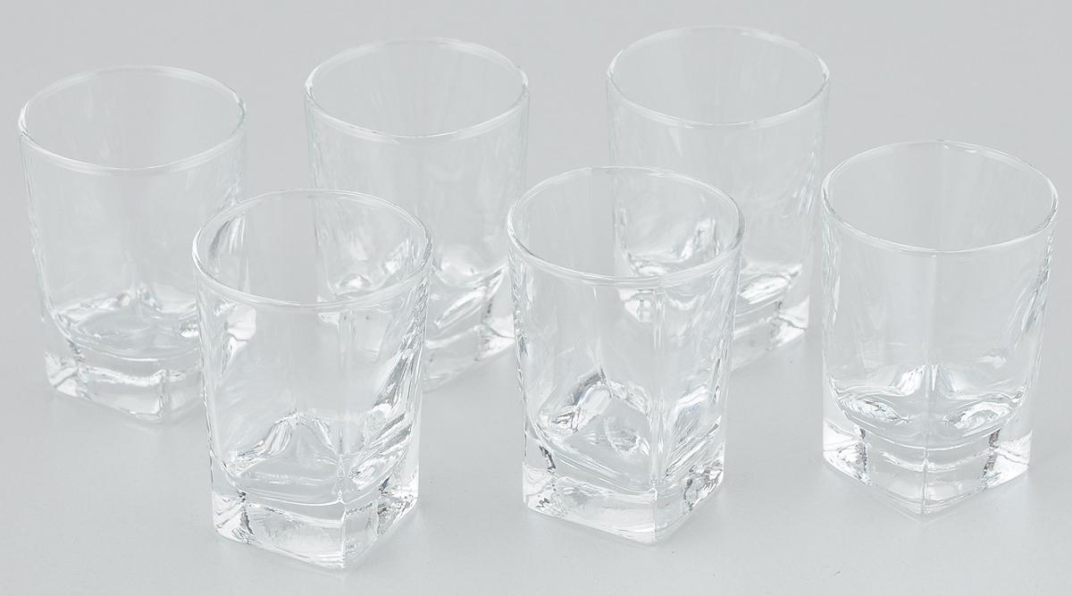 Набор стопок Pasabahce Baltic, 60 мл, 6 шт41270BНабор Pasabahce Baltic состоит из 6 стопок, выполненных из закаленного натрий- кальций-силикатного стекла. Изделия прекрасно подойдут для подачи крепких алкогольных напитков. Набор стопок Pasabahce Baltic украсит ваш стол и станет отличным подарком к любому празднику. Высота стопки: 7 см.