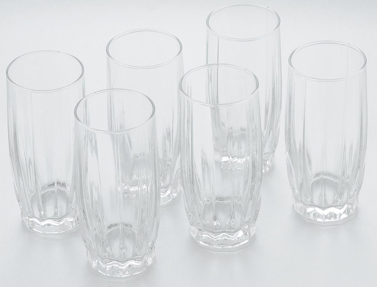 Набор стаканов для коктейлей Pasabahce Dance, 315 мл, 6 шт42868BНабор Pasabahce, состоящий из шести стаканов, несомненно, придется вам по душе. Стаканы предназначены для подачи коктейлей, сока, воды и других напитков. Они изготовлены из прочного высококачественного прозрачного стекла и сочетают в себе элегантный дизайн и функциональность. Благодаря такому набору пить напитки будет еще вкуснее. Набор стаканов Pasabahce идеально подойдет для сервировки стола и станет отличным подарком к любому празднику. Высота стакана: 15 см.