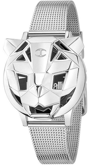Наручные часы женские Just Cavalli Just tiger, цвет: серебристый. R7251561503R7251561503Наручные часы Just cavalli, корпус и задняя крышка из стали