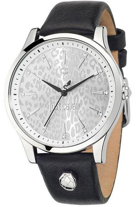 Наручные часы женские Just Cavalli Just linear, цвет: черный. R7251558504R7251558504Наручные часы Just cavalli, корпус и задняя крышка из стали, стразы из стекла