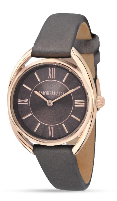 Наручные часы женские Morellato Tivoli, цвет: коричнеый. R0151137501R0151137501Наручные часы Morellato, корпус и задняя крышка из стали, PVD покрытие золотом