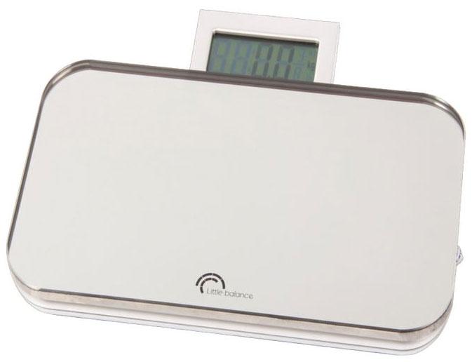 Весы напольные Little balance Nomade, цвет: черный, стальной8005Напольные весы Little balance Nomade просты и удобны в эксплуатации. Горизонтальная платформа изготовлена из качественного высокопрочного стекла, выдерживающего вес до 150 кг, и имеет зеркальную отделку. Корпус выполнен из полимерных материалов. Автоматическое включение/ выключение. Оснащены выдвигающимся цифровым дисплеем. Изделие имеет индикатор низкого заряда батареи. Весы работают на батарейке типа CR2032 (входит в комплект). Прилагается инструкция по эксплуатации на русском языке. Материал: стекло, полимерные материалы. Максимальный вес: 150 кг. Размер: 23 см x 13 см x 2 см. Размер дисплея: 6 см x 3 см.