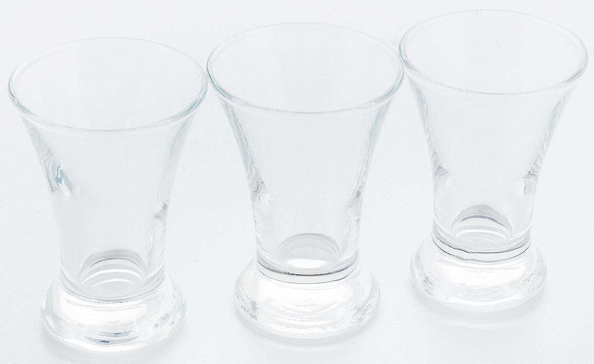 Набор стопок Pasabahce Pub, 50 мл, 3 шт42194BНабор Pasabahce Pub состоит из 3 стопок, выполненных из закаленного натрий- кальций-силикатного стекла. Изделия прекрасно подойдут для подачи крепких алкогольных напитков. Набор стопок Pasabahce Pub украсит ваш стол и станет отличным подарком к любому празднику. Высота стопки: 8 см.