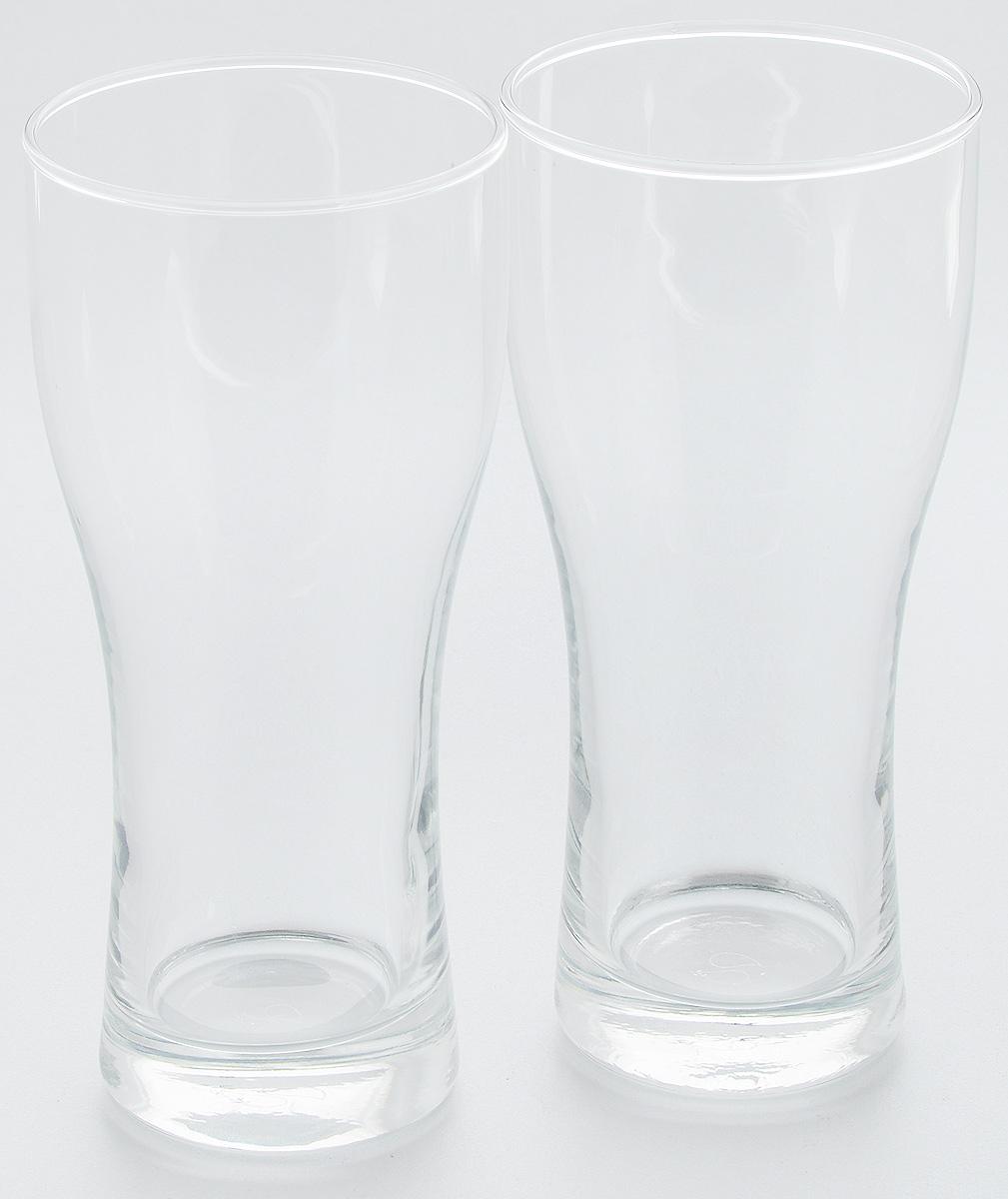 Набор бокалов для пива Pasabahce Pub, 500 мл, 2 шт42477BНабор Pasabahce Pub состоит из двух бокалов, выполненных из прочного натрий-кальций-силикатного стекла. Бокалы, оснащенные утолщенным дном, предназначены для подачи пива. Такой набор прекрасно подойдет для любителей пенного напитка. Высота бокала: 19 см.