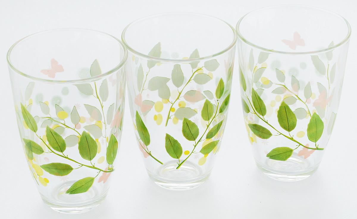 Набор стаканов Pasabahce Butterflies, 360 мл, 3 шт52555B/DНабор Pasabahce Butterflies состоит из трех бокалов, выполненных из закаленного натрий- кальций-силикатного стекла. Изделия украшены ярким рисунком и прекрасно подойдут для подачи холодных напитков. Их оценят как любители классики, так и те, кто предпочитает современный дизайн. Набор идеально подойдет для сервировки стола и станет отличным подарком к любому празднику. Диаметр стакана (по верхнему краю): 8,5 см. Высота стакана: 12 см.