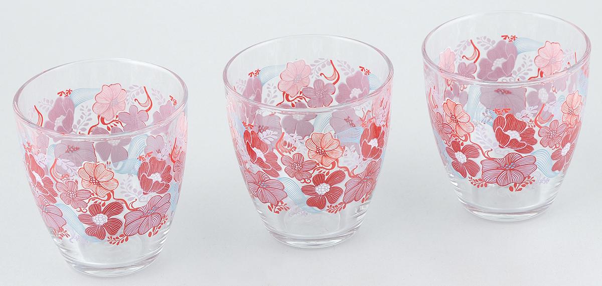 Набор стаканов Pasabahce Workshop Red Dream, 285 мл, 3 шт52645B/D3Набор Pasabahce Workshop Red Dream состоит из трех бокалов, выполненных из закаленного натрий- кальций-силикатного стекла. Изделия украшены цветочным узором и прекрасно подойдут для подачи холодных напитков. Их оценят как любители классики, так и те, кто предпочитает современный дизайн. Набор идеально подойдет для сервировки стола и станет отличным подарком к любому празднику. Диаметр стакана (по верхнему краю): 8,3 см. Высота стакана: 8,9 см.