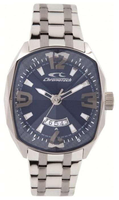 Часы наручные CHRONOTECH RW0050, Мужские, цвет Серый, размер 45х51ммRW0050Часы наручные CHRONOTECH RW0050 30м (3 АТМ)