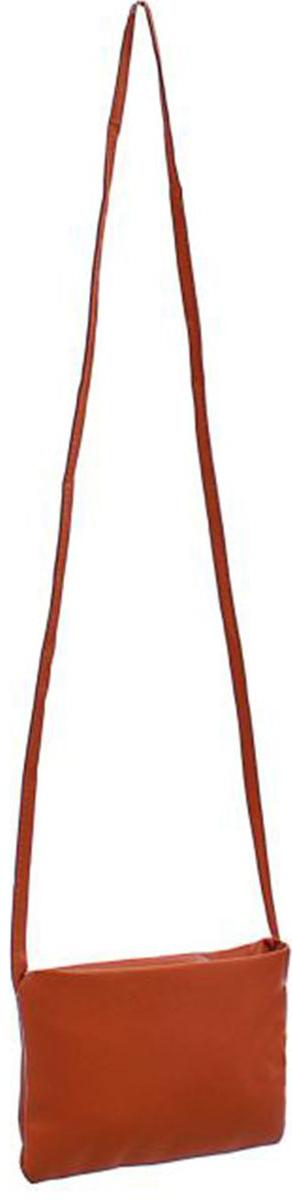 Клатч женский Mitya Veselkov Сара, цвет: коричневый. 13535261353526Стильный женский клатч Mitya Veselkov выполнен из искусственной кожи и текстиля. Закрывается клатч на застежку молнию. Модель оснащена съемным плечевым ремнем.